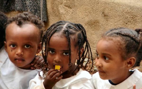 I bambini dell´asilo della Cattedrale
