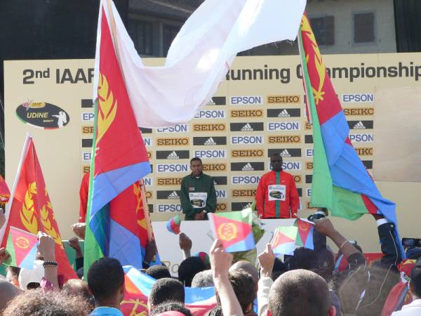 Firma dell´accordo - Maratona di Udine